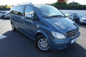 2010 MERCEDES VIANO 2.2 CDI EXTRA LONG AMBIENTE DIESEL AUTOMATIC MPV 8 SEATER MP