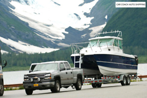 Boat towing services