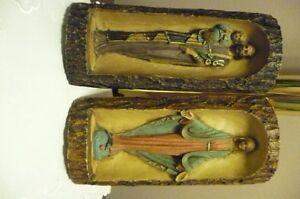 Virgin Mary and St. Joseph Catholic Statue Sculpture Figure  Bot