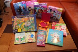 Lot de jouets et livres divers 5-6-7 ans