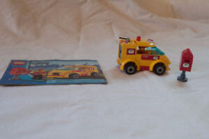 Lego 7731 - Mail Van with Manual