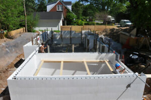 Insulated Concrete Form Foundations