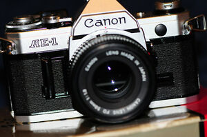 Mint Condition Canon 35 mm film equipment