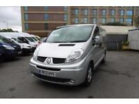 2013 RENAULT TRAFIC SL27 SPORT 2.0 DCI 115 WITH AIRCONDITIONING AND SAT NAV ****