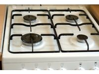 Used Beko BDG581 W Freestanding Gas Hob and Oven. White