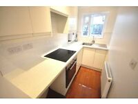 A modern self contained studio apartment set in a period conversion wood flooring GCH fitted kitchen