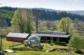 Part Time Cleaner House Manager required for ecoYoga Centre, Ford, Kilmartin, Argyll