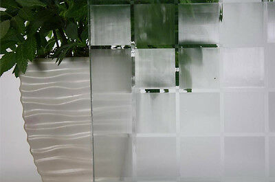 """Frosted Tile Static Cling Window Film, 36"""" Wide X 1 Yd. S..."""