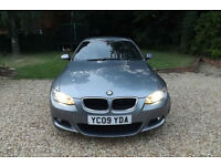 2009 BMW 320d M Sport Highline 2.0 TURBO DIESEL 6 SPEED COUPE FSH 68 MPG ECONOMY