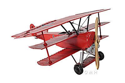 Historical Fighter Aircraft WW1 German Fokker Dr I Triplane Red Baron SORA/_1