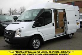 2013 FORD TRANSIT 300 SWB MEDIUM ROOF EURO 5 DIESEL VAN WITH PARKING SENSORS,6 S