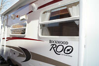 Almost New Camp Trailer Rockwood Roo-19 up to 8 sleeps