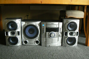 Sony VAC5 compact home stereo system Kitchener / Waterloo Kitchener Area image 2