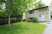 Updated 3 bdrm semi-detached home with a huge lot in Kanata