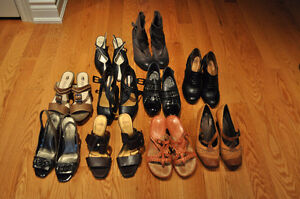 Lightly Used Leather Shoes