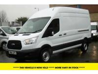 2014 FORD TRANSIT 350/125 L3H3 LWB HIGH ROOF DIESEL VAN WITH ONLY 11.000 MILES,1