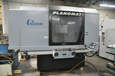2003 Blohm Planomat 608 Cnc Surface Grinder Table 31 X 23 Coolant System Over Th
