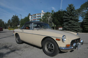 1971 MGB in exceptionally good condition