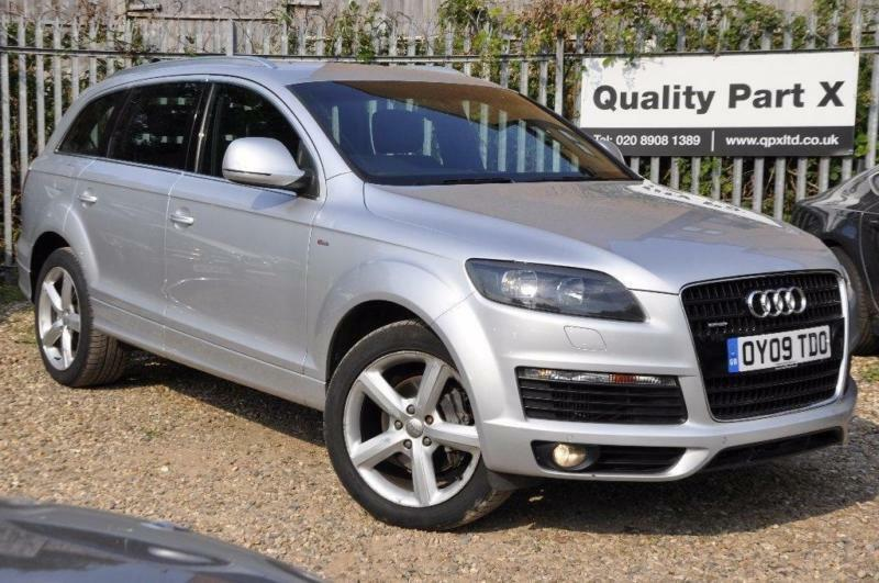 2009 audi q7 3 0 tdi s line tiptronic quattro 5dr in. Black Bedroom Furniture Sets. Home Design Ideas
