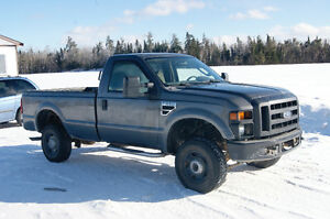 2008 Ford F-250 SUPERDUTY 4x4 LONG BOX V10