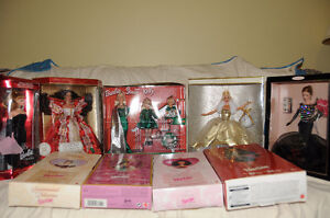 Barbies, Never Opened $100.00 for the lot or $20 each