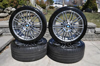 BMW OEM High Perfromance Rims and Tires