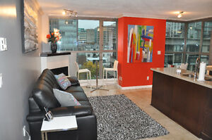 Luxury furnished condo in the heart of Vancouver
