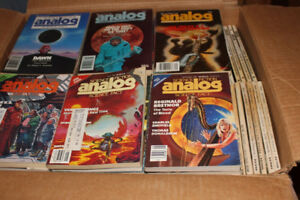 Fantasy and Science Fiction, Galaxy, Fantastic, Analog Magazines