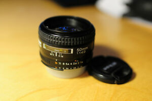 Nikkor AF 50/1.4D mint condition