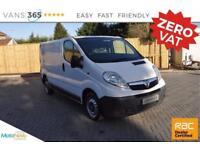 Vauxhall Vivaro NO VAT CLEAN VAN GREAT VALUE NEW MOT 6 SPEED 2700 CDTI SWB S