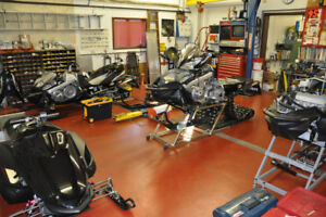 Snowmobile Repairs Quick Turnaround Service Engine Rebuilds Too