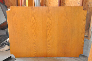 Solid Oak - Pub Style Table and Chairs (4) $300