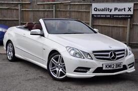 2012 Mercedes-Benz E Class 3.0 E350 CDI BlueEFFICIENCY Sport 7G-Tronic 2dr