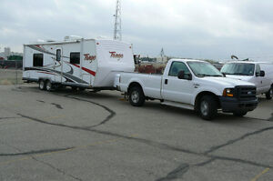 ***2008 Tango Travel Trailer Teamed Up With A 2007 Ford F-350***