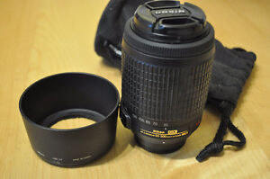 Nikon lens 55-200 DX VR