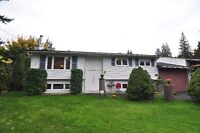 Level lot with 4 Bedroom, 2 Bath home in Sicamous close to park