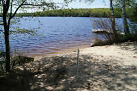 2 and 3 Bedroom Lakefront Muskoka Cabins. May special $600/week!