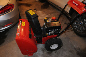 SNOWBLOWER -NEVER USED -BRAND NEW -/ SOUFFLEUSE NEIGE -NEUVE