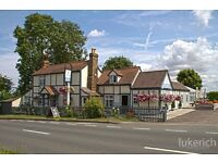 Head chef/ Sous chef positions required in a Stunning friendly country pub in Stapleford abbots