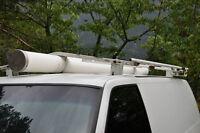 Roof Rack Pipe Storage Tube