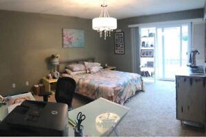 Master bedroom for rent in main floor of house