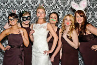 Book your next PHOTO BOOTH with us