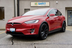 2017 TESLA MODEL X 75D AP2 ENHANCED AUTOPILOT, SIX PASSENGER