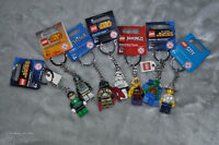 7 Lego Key Chains