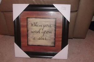 Framed Picture Brand New Never Opened
