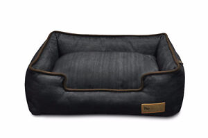 """Brand New in Box P.L.A.Y. Brown Lounge Bed, 38"""" Large"""