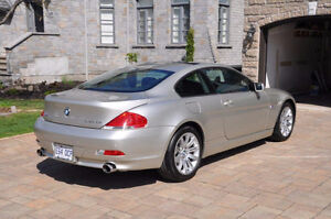 2004 BMW 6-Series Coupe Show Room Condition