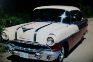 Rare Canadian car  1956 Pontiac Laurentian 2 tone