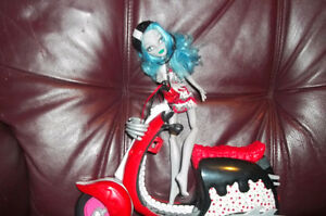 Various monster high dolls; barbies & equestrian dolls. $5 each