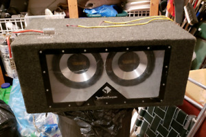 """2 10"""" Subs + Box for Sale"""